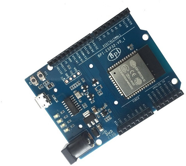 Banana pi bpi esp board follows arduino uno form factor