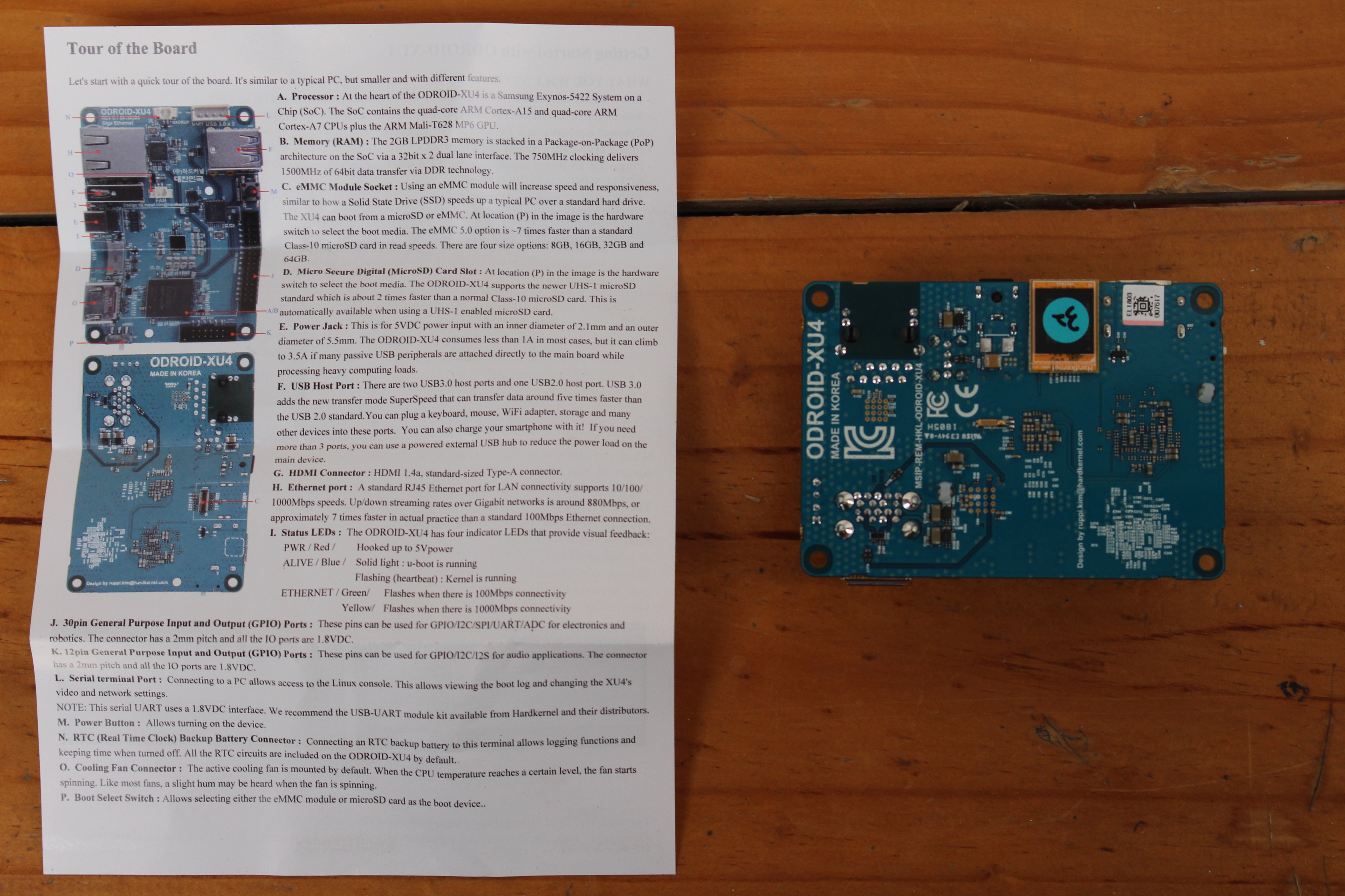 Odroid C1 Wiringpi Review Of Ubuntu 1804 On Xu4q Development Board Click To Enlarge