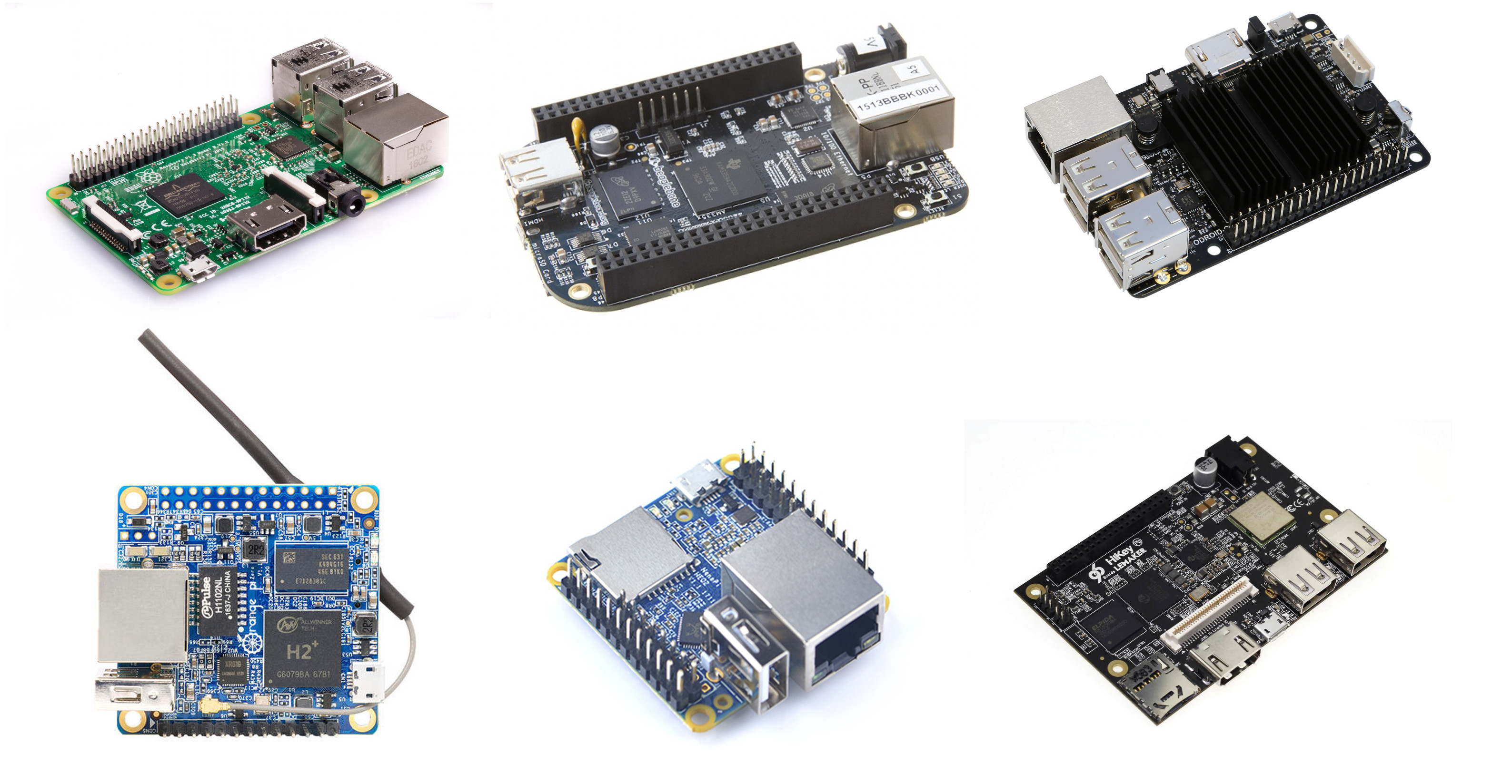 x86 & Arm Linux Development Boards