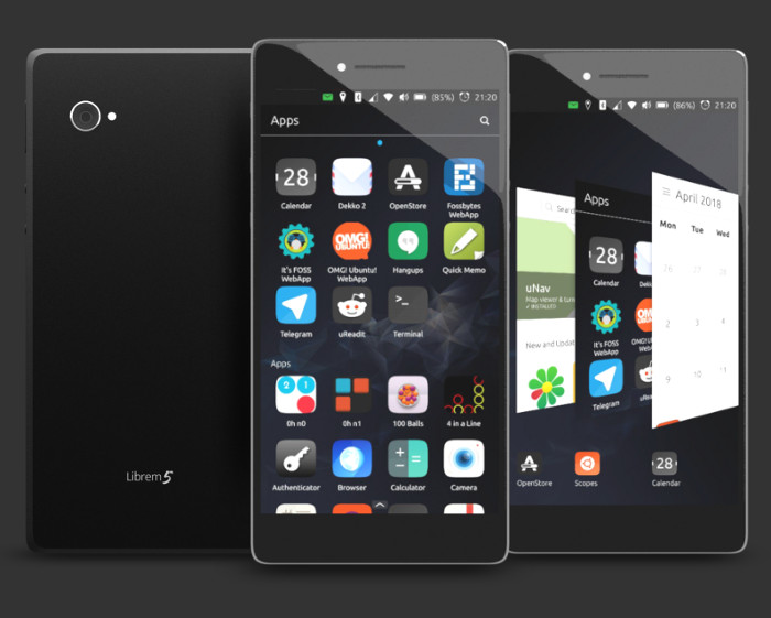 Ubuntu Touch to Be Officially Supported on Librem 5 Open Source