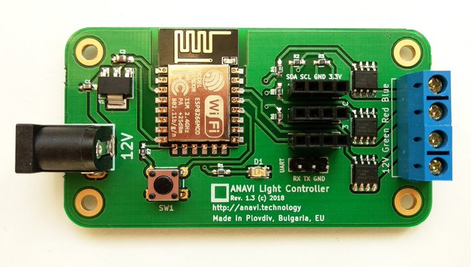 ANAVI ESP8266 Light Controller