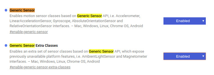 Android Sensor Example