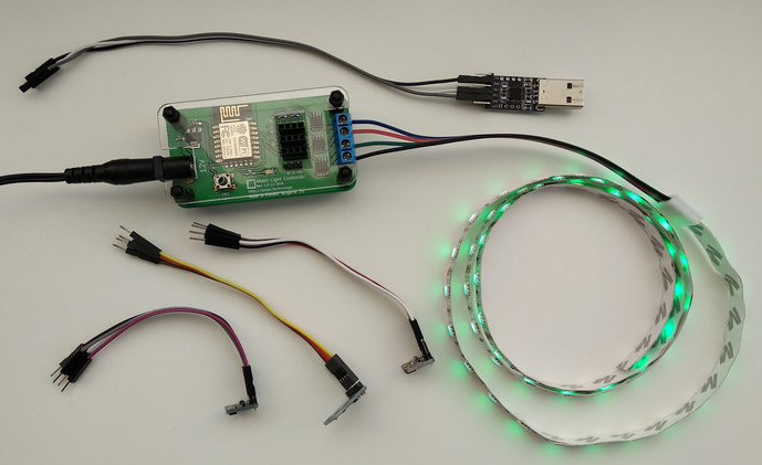 ESP8266 RGB LED Strip