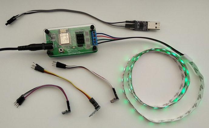 ESP8266 RGB LED Strip