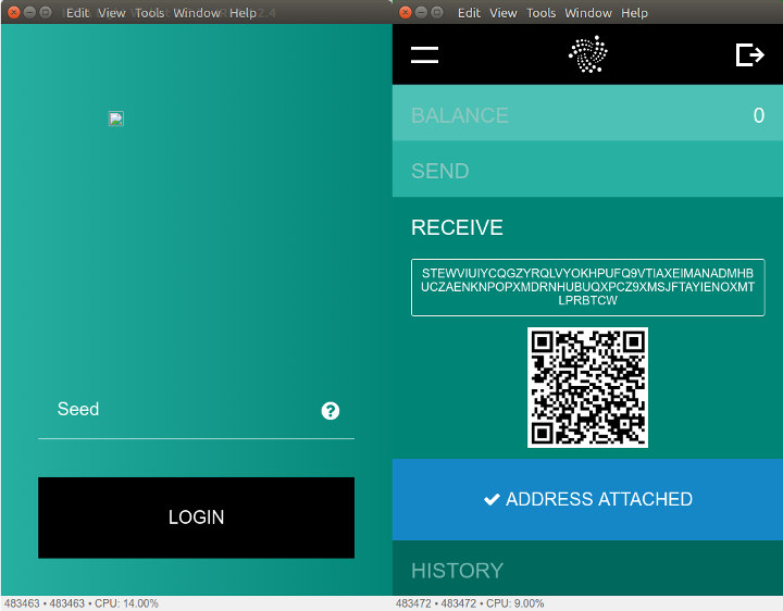 IOTA-Wallet-Login-Receive-Address