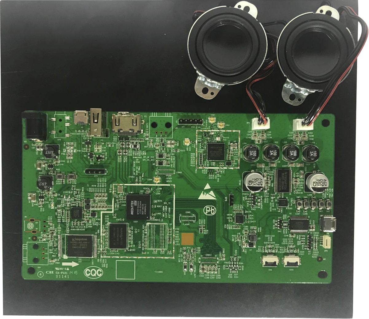 A Closer Look At Mediatek Mt8516 Cortex A35 Som Devkit For Android Classd Audio Amplifier Reference Design Nxp Things