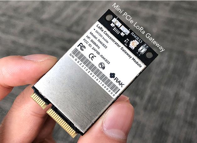 Mini-PCIe-LoRaWAN-Gateway