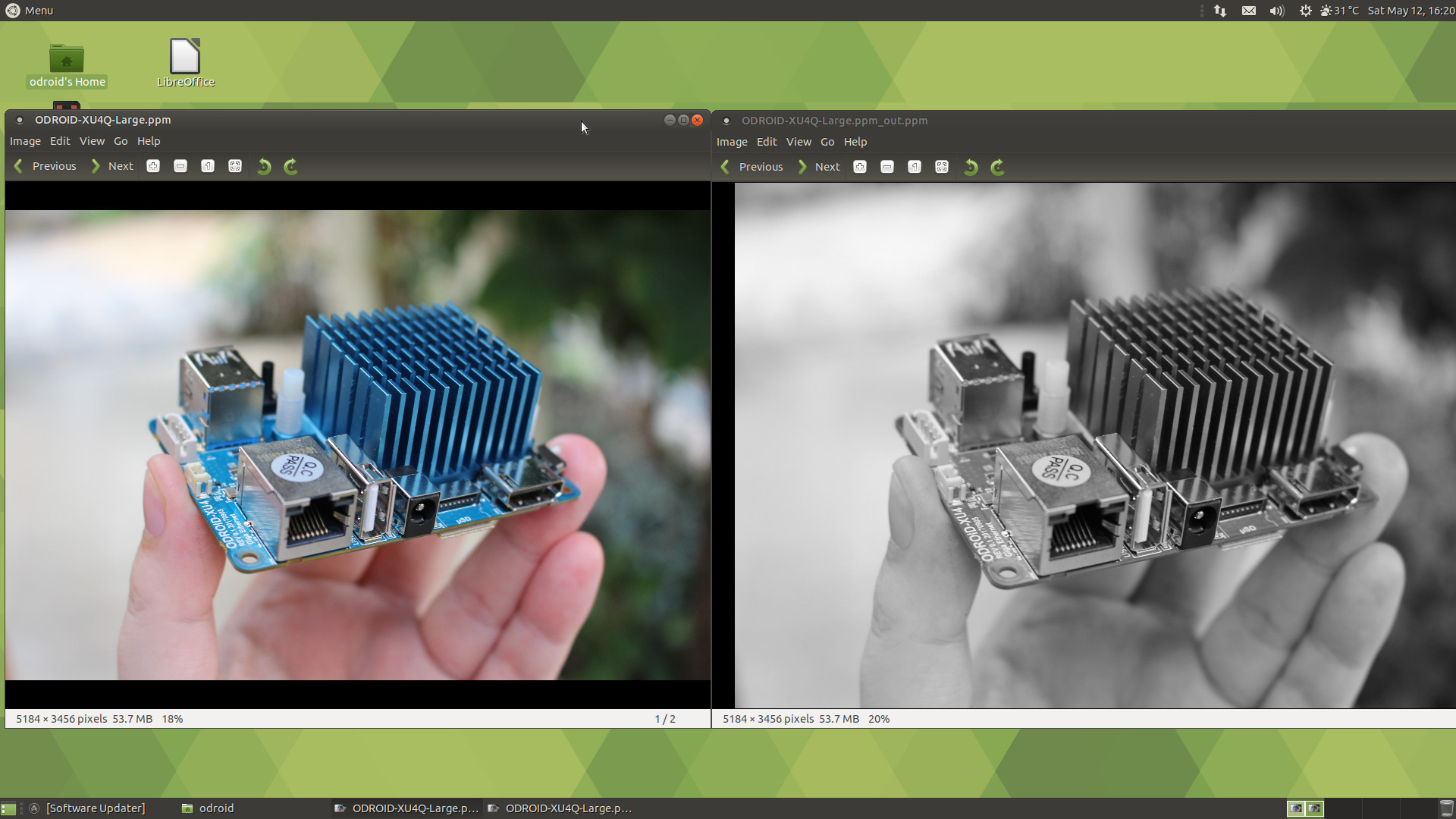 How to Get Started with OpenCL on ODROID-XU4 Board (with Arm