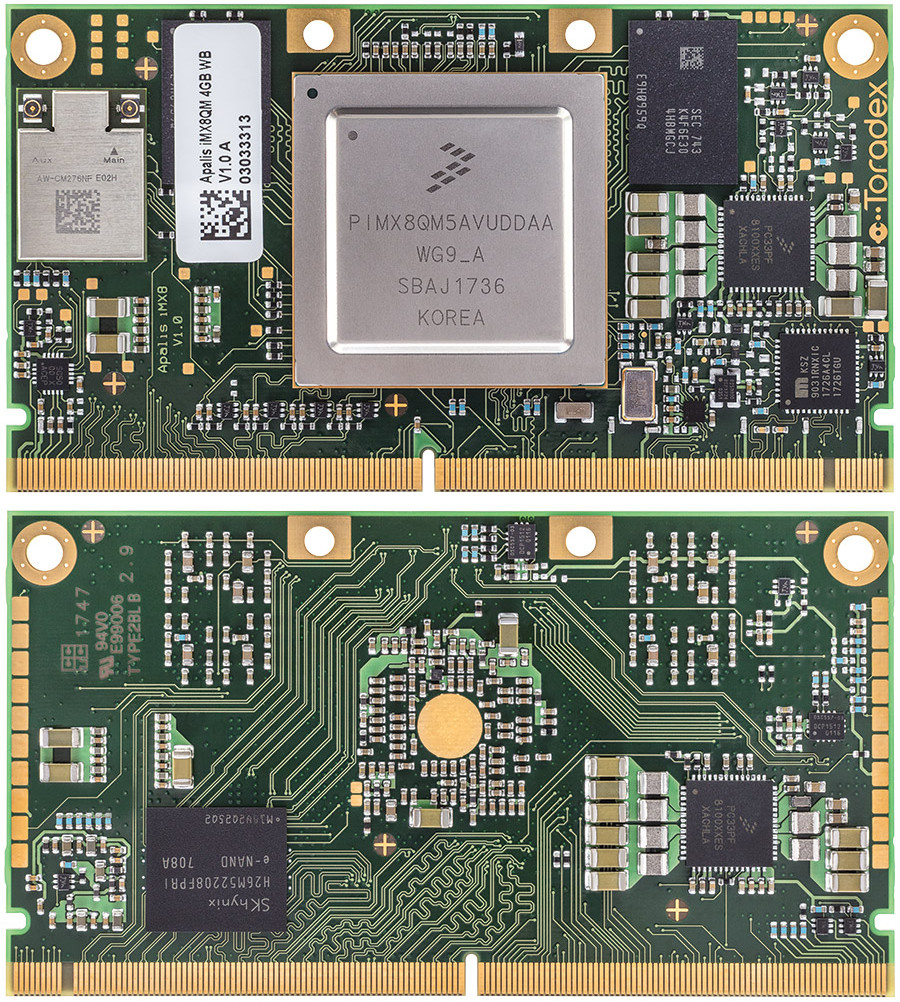 Toradex Launches Apalis iMX8 Computer-on-Module based on NXP
