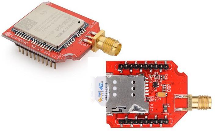 Dragino NB-IoT Bee is a $23 Xbee Compatible NB-IoT Add-on Board