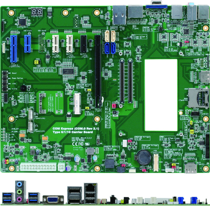 COM Express Type 1/6/10 Carrier Board