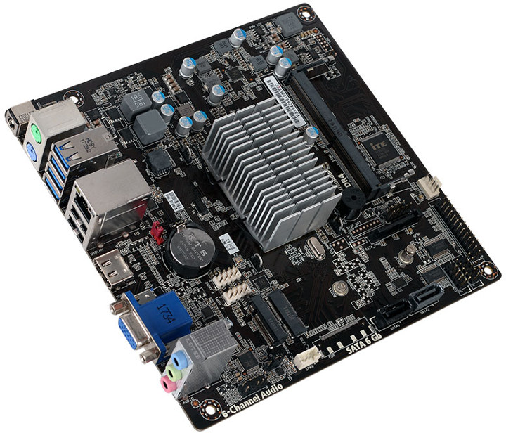 DC Powered Gemini Lake Motherboard