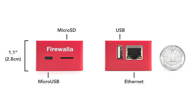Firewalla is a Tiny Firewall Appliance Based on NanoPi NEO Board