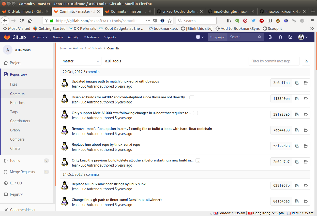 Gitlab-Commits-Message-After-Import