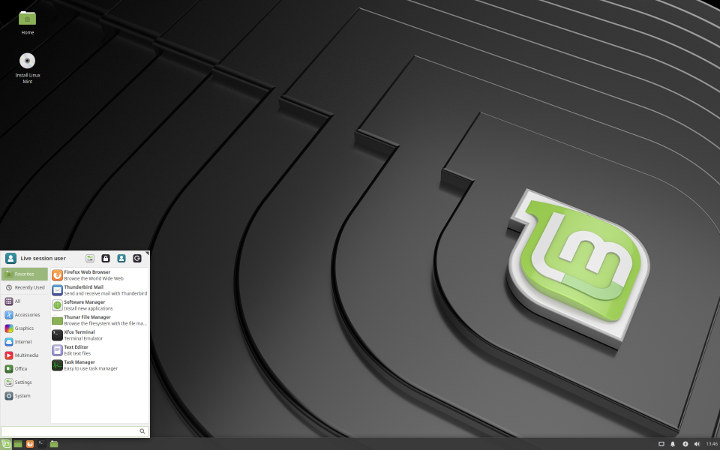 Linux-Mint-19-Xfce-Screenshot