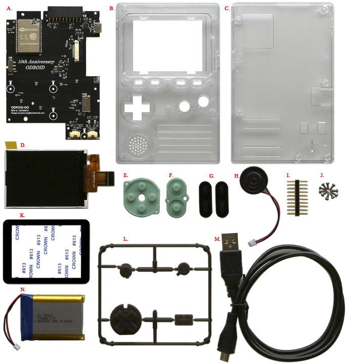 ODROID-GO Kit