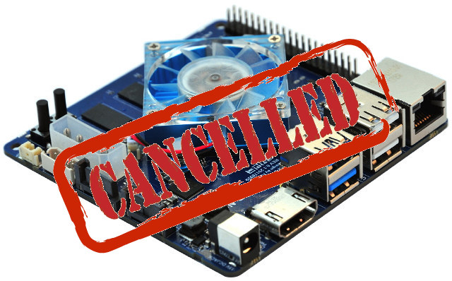 ODROID-N1 Canceled