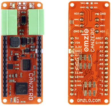 Omzlo CANZERO NoCAN IoT Platform