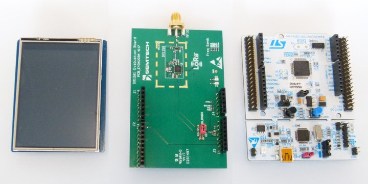 SX1261 STM32 mBed Board