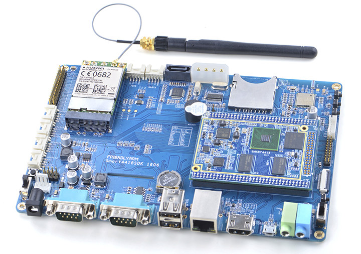 Smart4418 S5P4418 SoM Development Kit