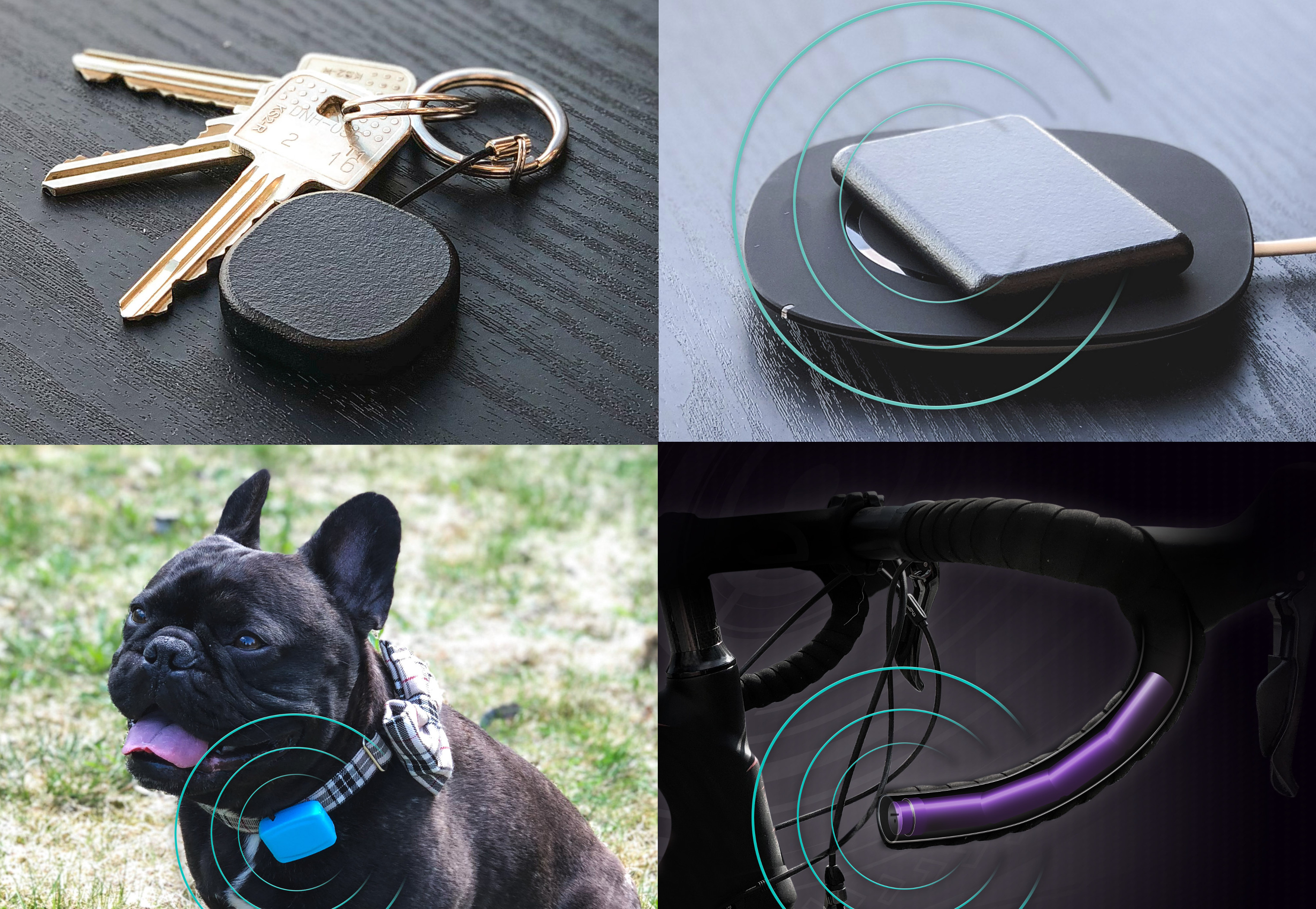 Tail it is a Family of WiFi & Cellular GPS Trackers for Things, Pets