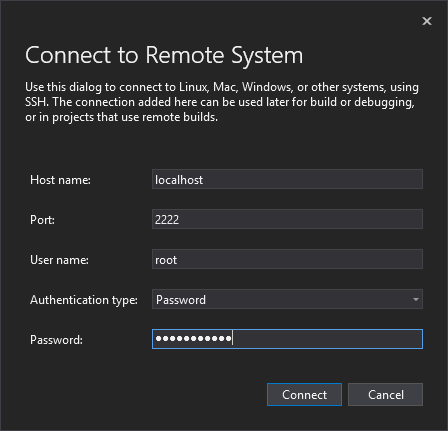 Visual Studio-Connect-Remote 시스템