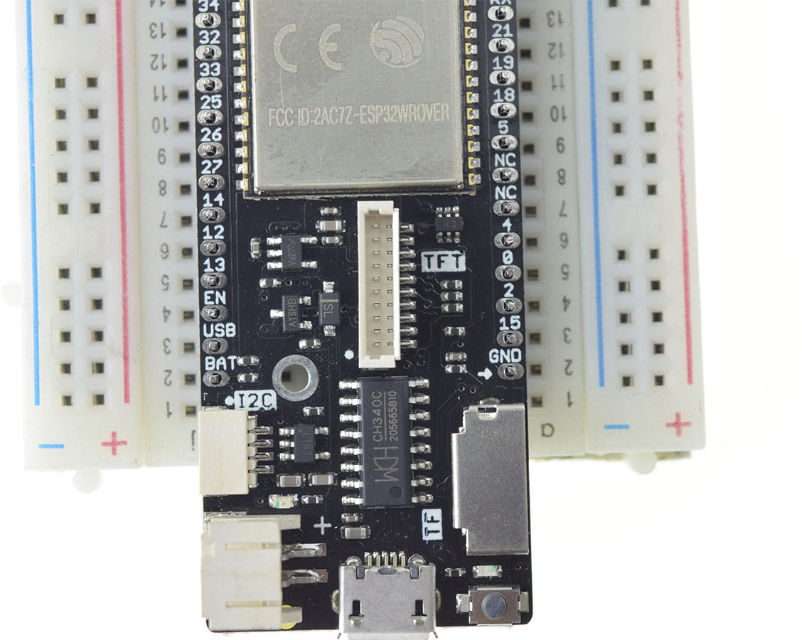 Wemos LOLIN D32 Pro ESP32 Board Supports TFT Displays, Comes with a