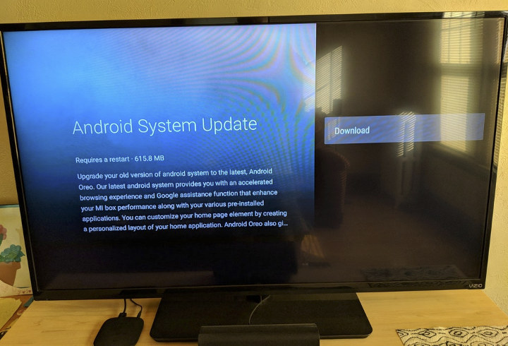 Xiaomi Mi Box Gets Android 8 Oreo Firmware Update
