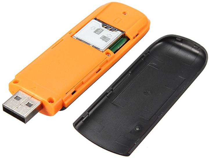 3G USB Stick micro SD + SIM Card slot