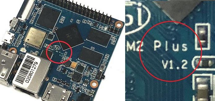 Banana Pi M2 Plus V1.2