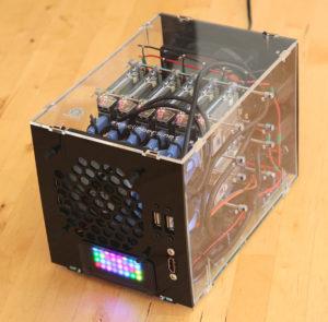 96-Core NanoPi Fire3 Cluster