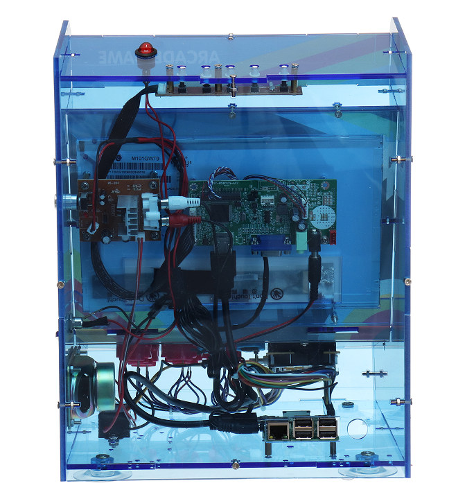 DIY Arcade Game Console Raspberry Pi