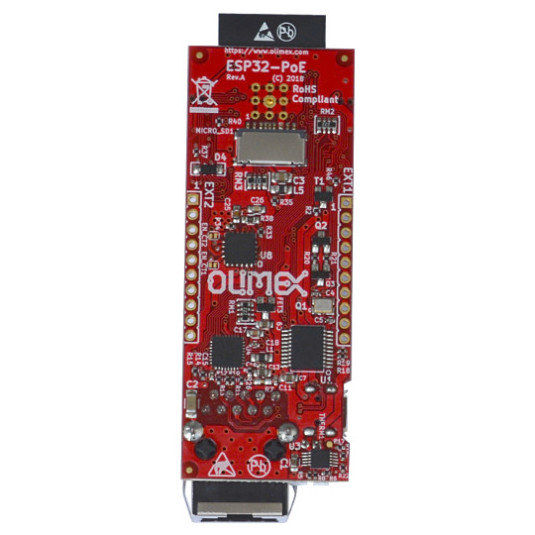 ESP32 Board with PoE