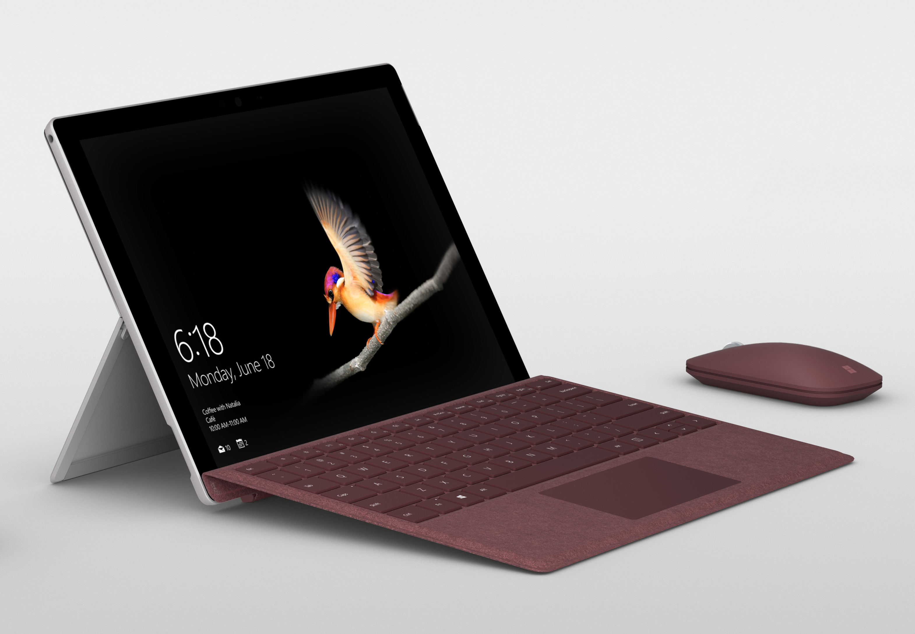 Microsoft Surface Go Tablet Based on Intel Pentium Gold 4415Y