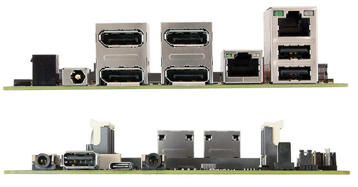 Motherboard Four DisplayPort Outputs