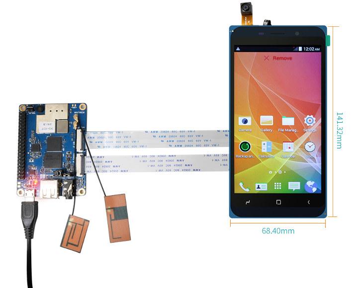 Orange Pi 3G-IoT-A Touchscreen Display Set1
