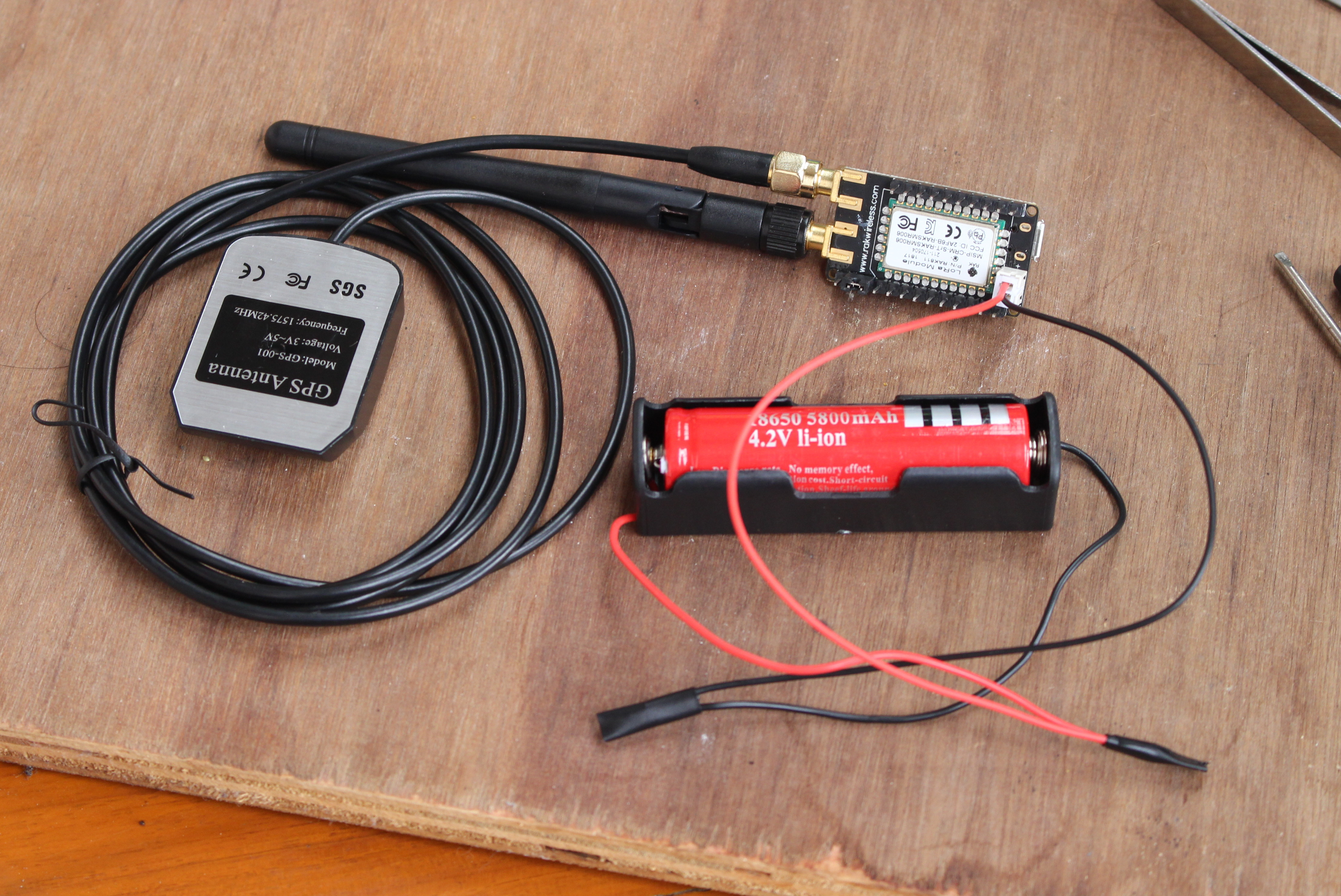 AS923 LoRa GPS Tracking with MatchX MatchBox Gateway and RAK811 LoRa
