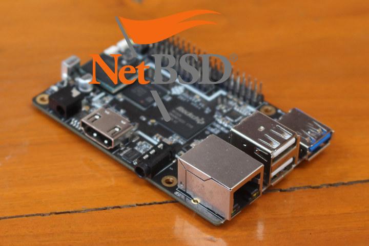 ROCK64 NetBSD ARM64