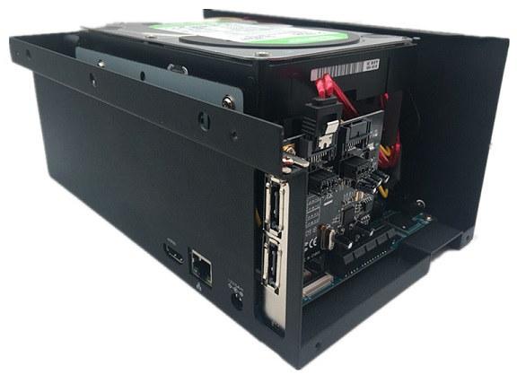 ROCKPro64 SATA Drive Case