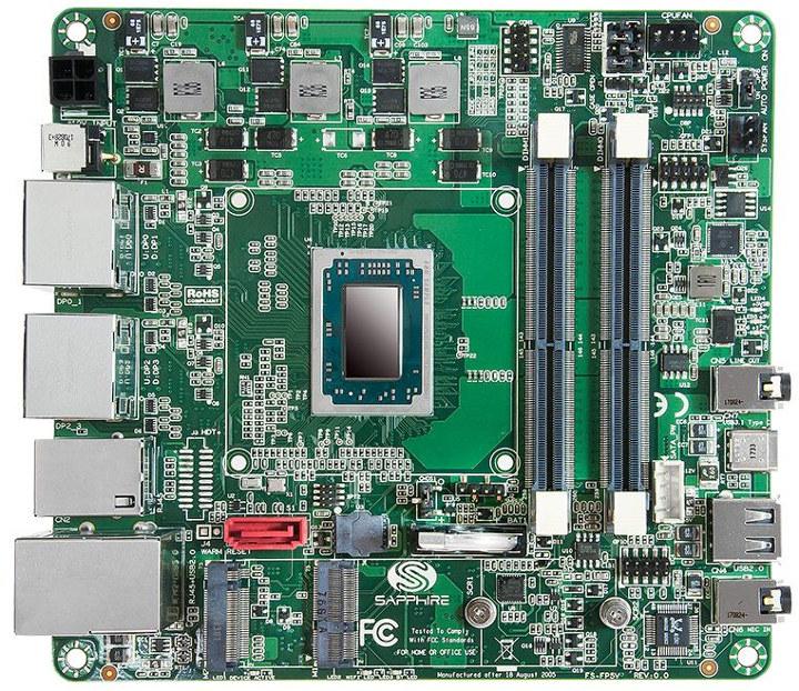 SAPPHIRE-FS-FP5V-Ryzen-Embedded-Motherboard