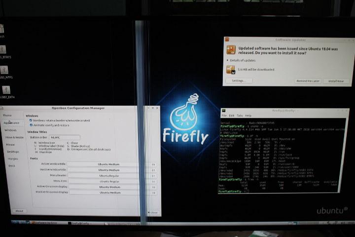 Ubuntu 18.04 ROC-RK3328-CC
