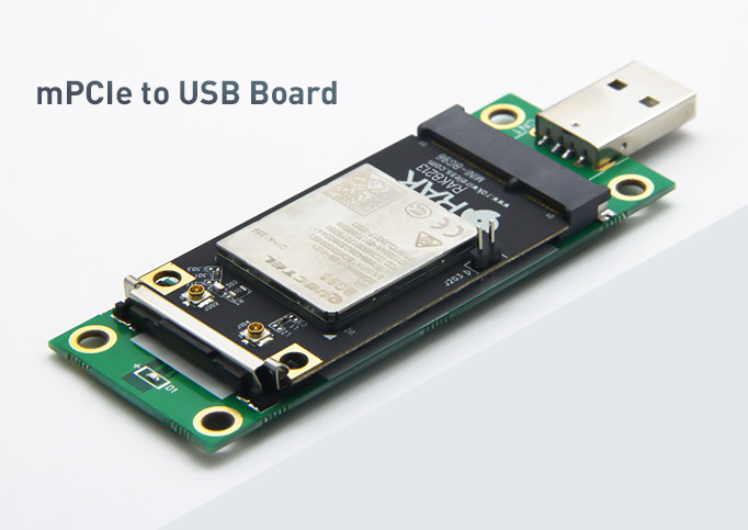 mPCIe to USB Board