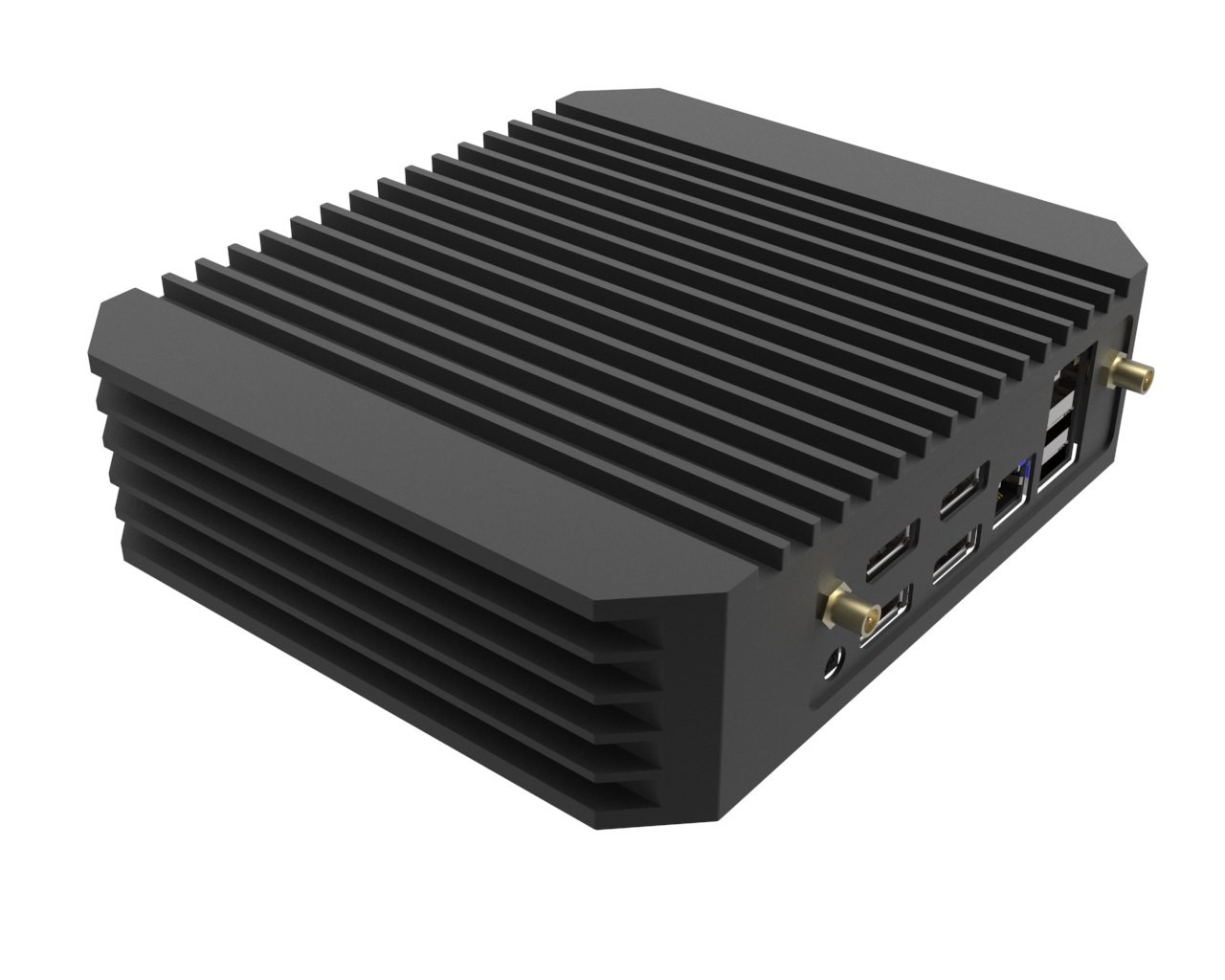 Tranquil PC's AMD Ryzen Embedded Mini PC Supports Up to 4 Displays