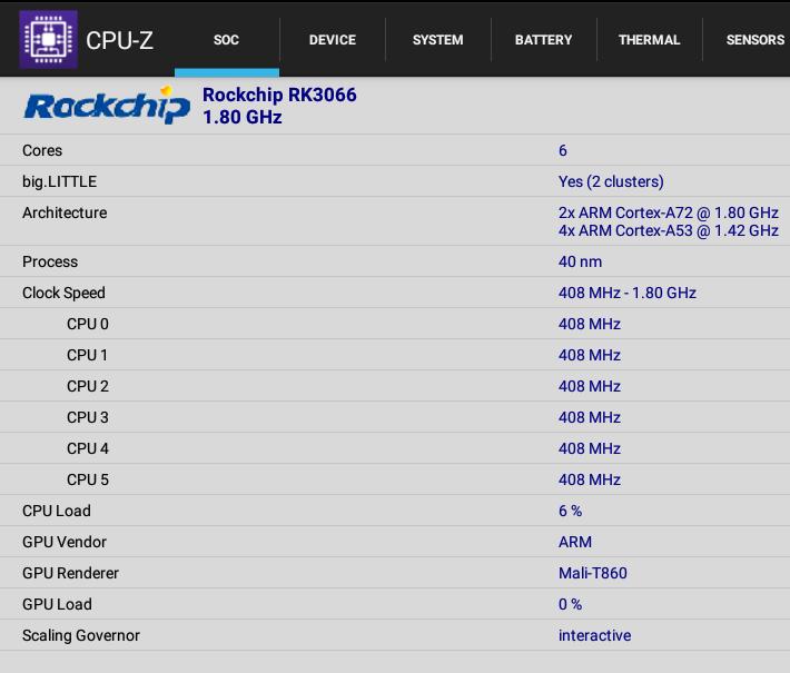 CPU-Z NanoPC-T4
