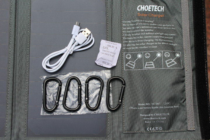 Choetech Solar Charger Accessories