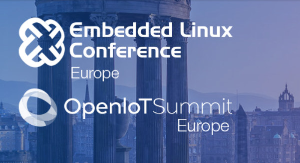 Embedded Linux Conference OpenIOT Summit Europe 2018