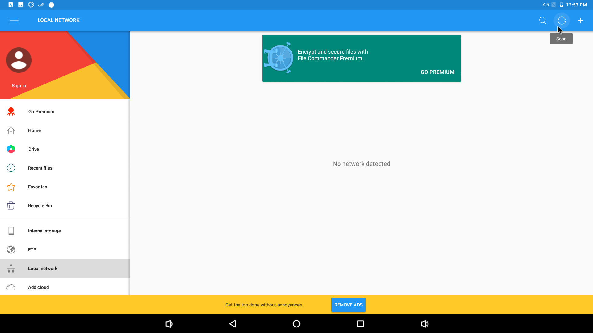 Access SAMBA Shares in Android with File Browser by Astro