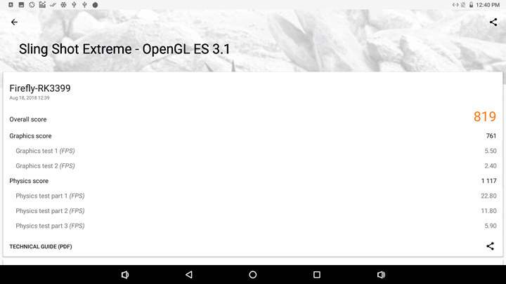 Firefly-RK3399-3DMark-Sling-Shot-Extreme-OpenGL-ES-3.1