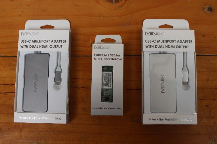 MINIX NEO USB-C Adapters / M.2 SSD