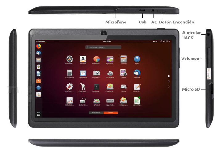 TableX Arm Linux Tablet Runs Armbian Ubuntu, To Launch for 89 Euros